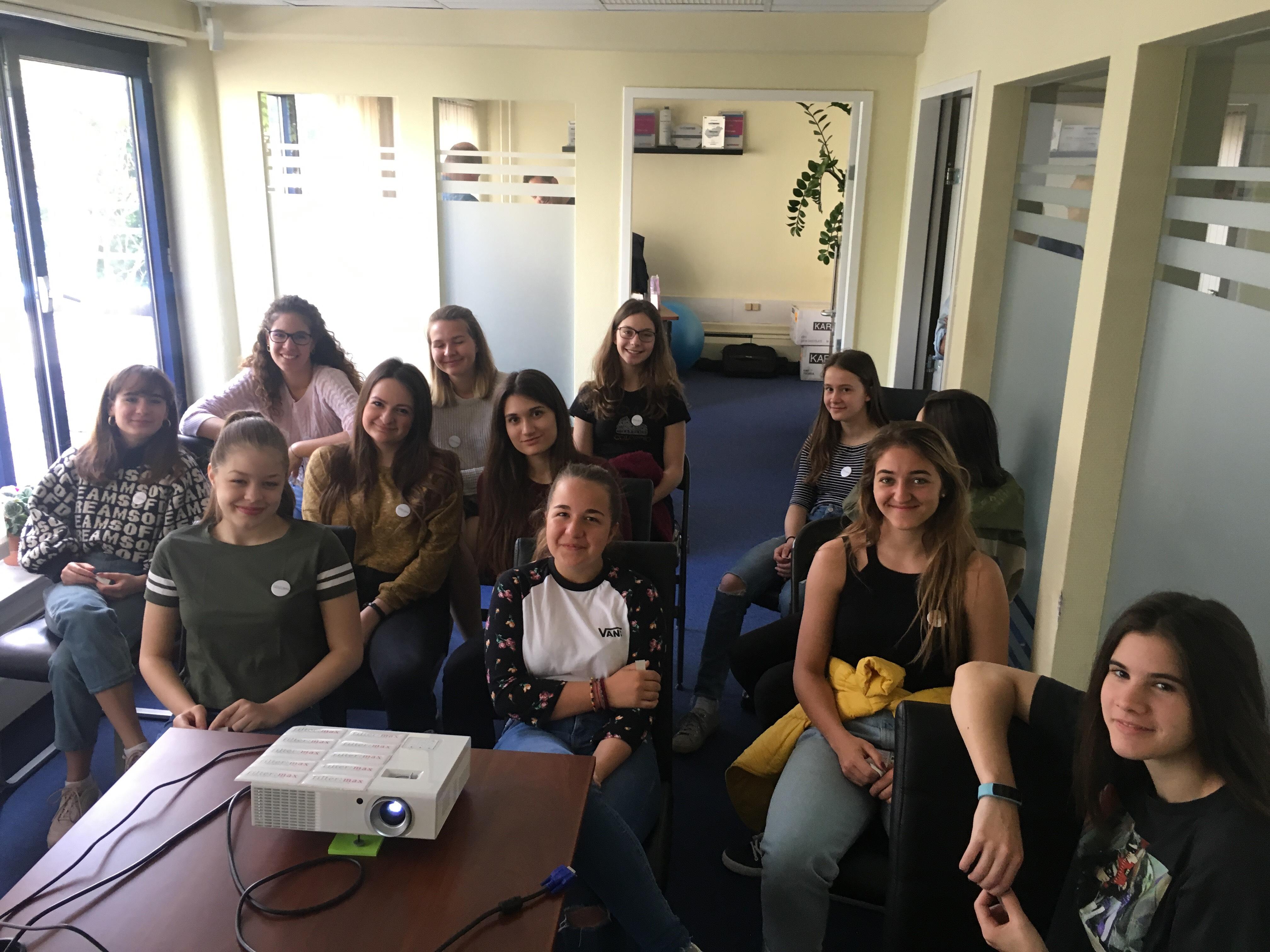Teltházas Lányok Napja a filter:max irodában